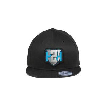 H2H Patch Caps Black Flat Brim OSFA