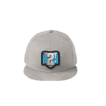 H2H Patch Caps Light Grey OSFA