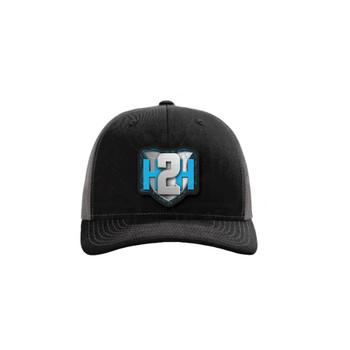 H2H Patch Caps Black/Grey OSFA