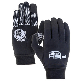 Fish Monkey Glove Liner Black L/XL