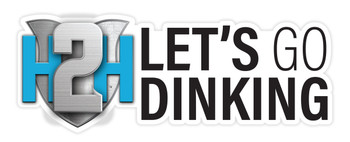"""Let's Go Dinking Sticker 9"""""""