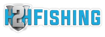 "H2H Fishing Sticker 10"""