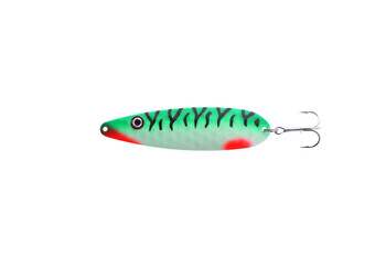 Moonshine Lures Original Spoons Magnum Yellow Tiger 5''