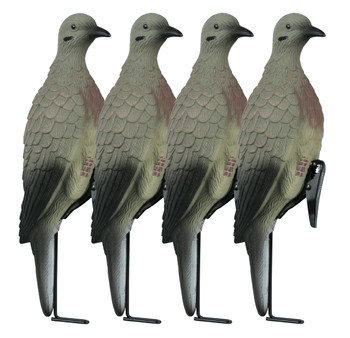 Lucky Duck Clip on Doves 4pk w/Stake