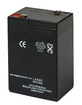Lucky Duck 6v Rechargeable Battery