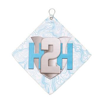 "H2H Micro Fiber Hand Towel Original H2H Shield 14"""