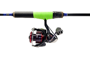 JT Custom Ice Rod Reel Tape Neon Green