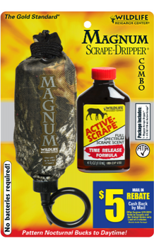 Wildlife Research Mag Drip w/4oz Active Scrape