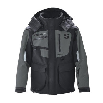Striker Ice Climate Jacket Black/Gray 2XL