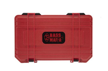 Bass Mafia Bait Coffin 3700 Red/Black