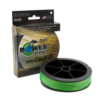 PowerPro Superslick V2 Braid 150 yd Spool Green 65lb