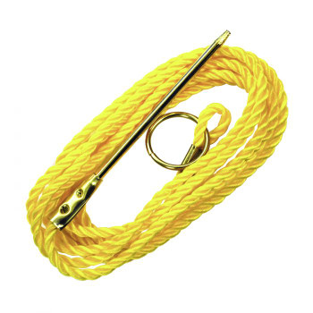 Eagle Claw Poly Stringer Yellow 9'