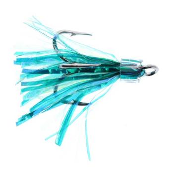Salmon Candy Coho Flies 2 Pack Aqua Boy Blue 2 Inch