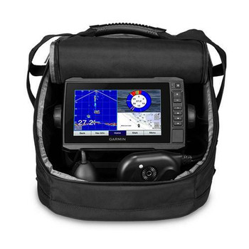 Garmin Echomap UHD 73cv Panoptic PS22 Ice Bundle w/GT10