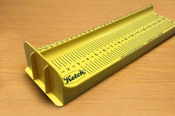 Ketch 16'' Carbonate Fish Measuring Board