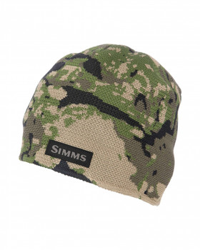 Simms Everyday Beanie Riparian Camo OSFA