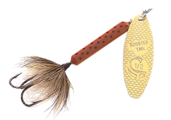 Yakima Rooster Tail Brown Trout 1/6 oz