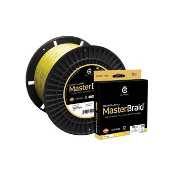 Cortland Master Braid 150yd Spool Yellow 20