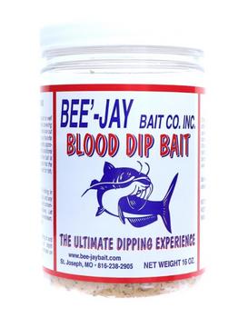 Bee-Jay Cat Dip Bait  Blood 16 oz