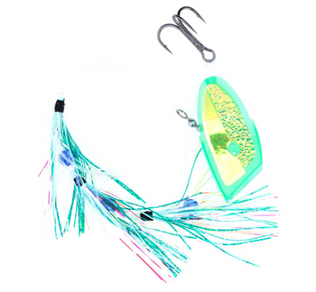 Salmon Candy Meat Rigs Green Willy