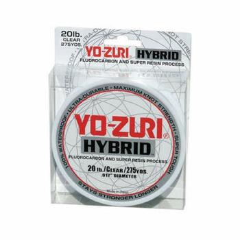 Yo-Zuri Hybrid Fishing Line Camo Green 12 LB