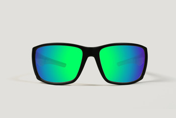 RLVNT Sunglasses Advantage Black Freshwater Green