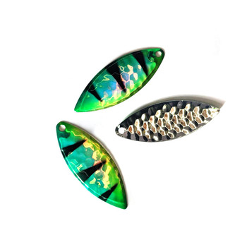 Walleye Candy Silver Willow Blades