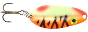 Moonshine Lures Mainliner Casting Spoons Tangerine Tiger 3/4 oz