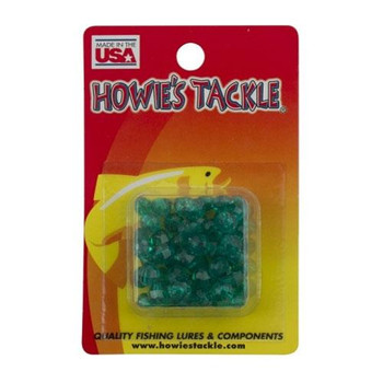 Howie's Tackle Beads #6 Dark Green 50 Pack