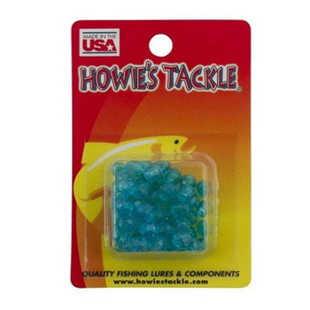 Howie's Tackle Beads #6 Teal 50 Pack