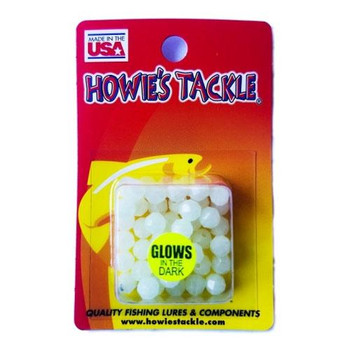 Howie's Tackle Beads #6 Glow 50 Pack