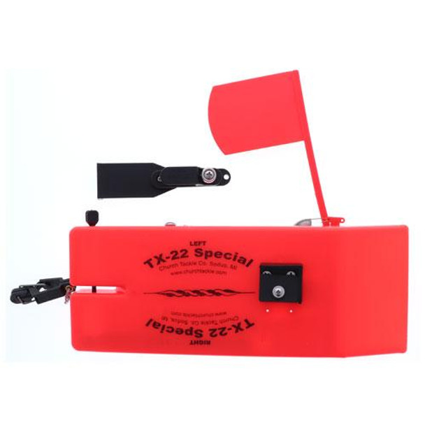 Church Tackle TX-22 Special Board w/Flag Orange Starboard - Right