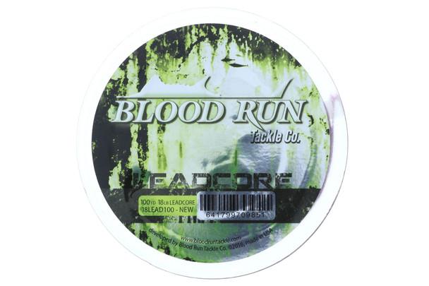 Blood Run Leadcore Trolling Line 100 yards 18 lb