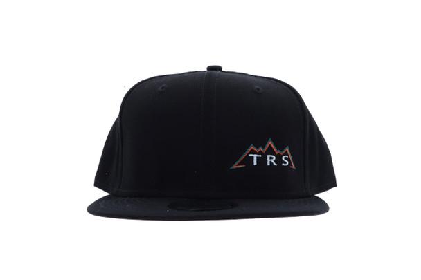 TRS New Era Snapback Cap Black