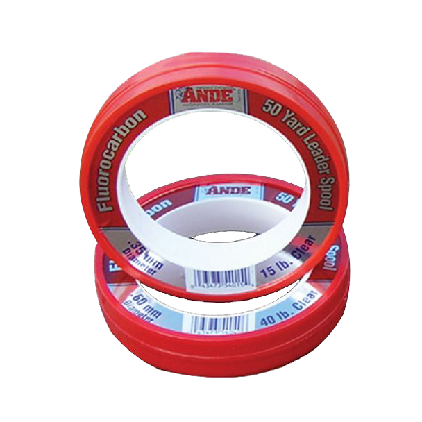 Ande Fluorocarbon 50 yd Spool Clear 40lb
