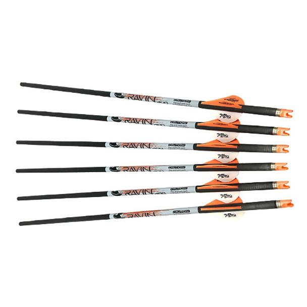 Ravin Crossbows Crossbow Arrows 400gr 6Pk .001