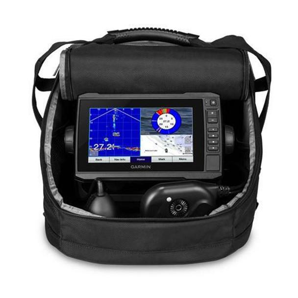 Garmin Echomap UHD 73cv Panoptic PS22 Ice Bundle w/GT10