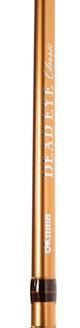 Okuma Classic Deadeye Trolling Rod Orange 8'6'' Tel