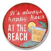 """Always Happy Hour"" - Stone Car Coaster Cupholder 03-00251"