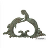 DOLPHIN AND MERMAID HOOK H-4605
