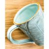 Ceramic Leaf Sculpted Mug - 12oz - 3AMH031
