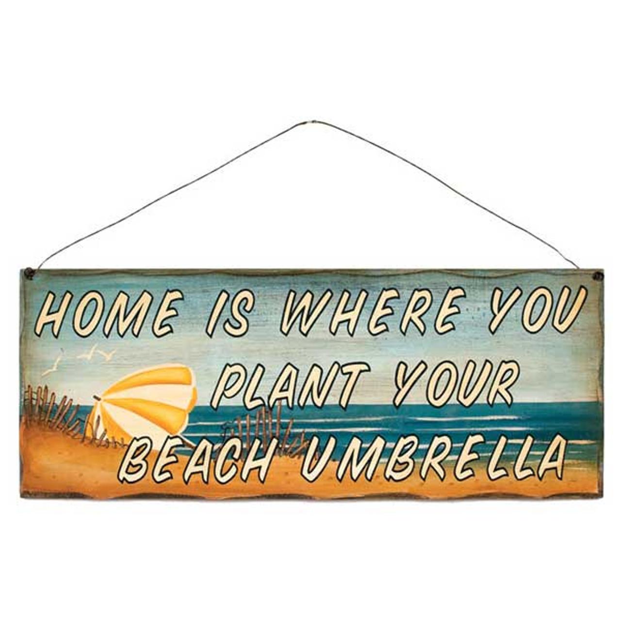 """It/'s a Shore Thing/"""" 31376B Beach Theme Wood Sign /""""Beach Life.."""