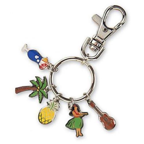 Luau Charms Keychain 08902002