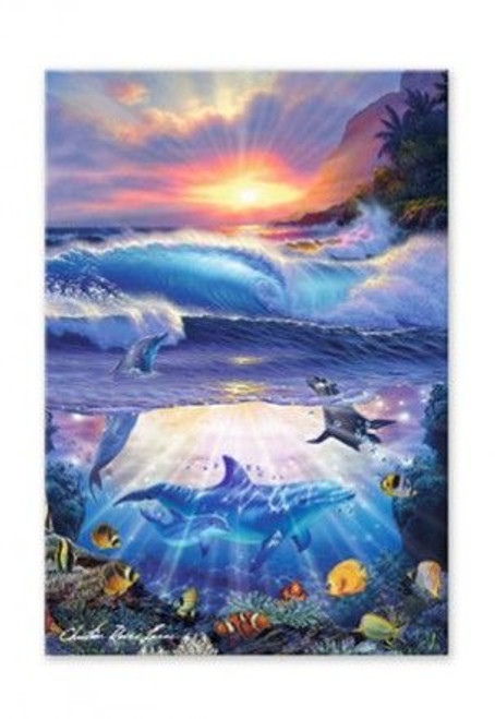Dolphins Magic Island Magnet - 12190000