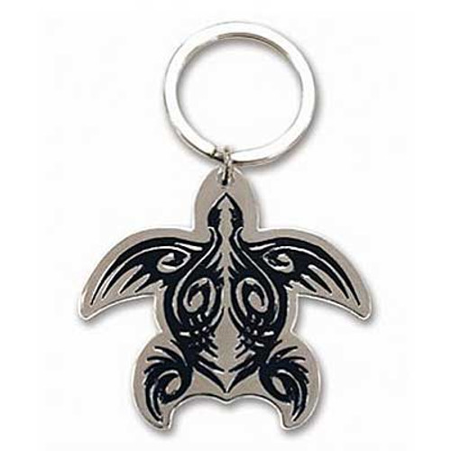 Tribal Honu Metal Keychain 12578000