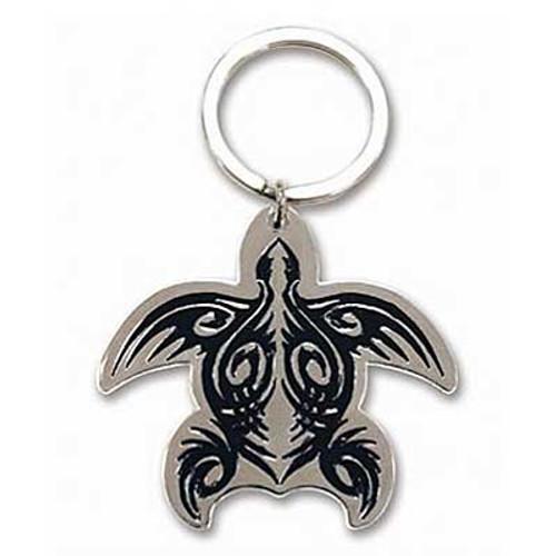 Tribal Honu Metal Keychain 12578000