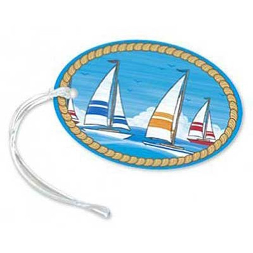 Smooth Sailing Die-Cut Luggage Tag 13491000