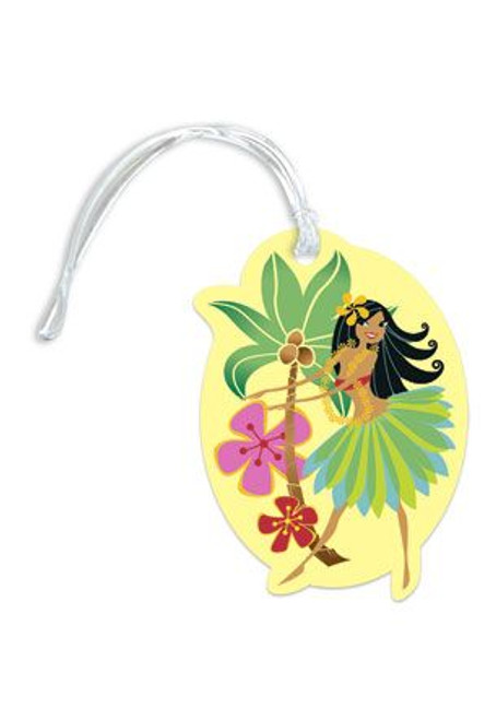 Hula Honey Die Cut Luggage Tag - 13493000