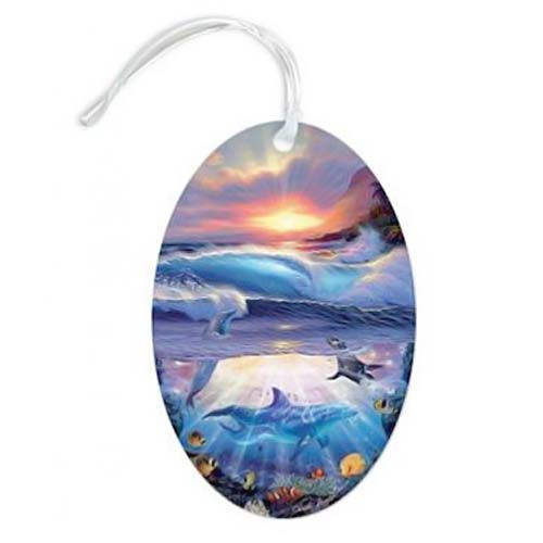 Magic Island Luggage Tag 13496000