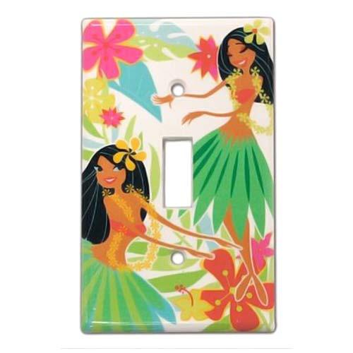 Island Hula Honeys Light Switch Cover 19255000